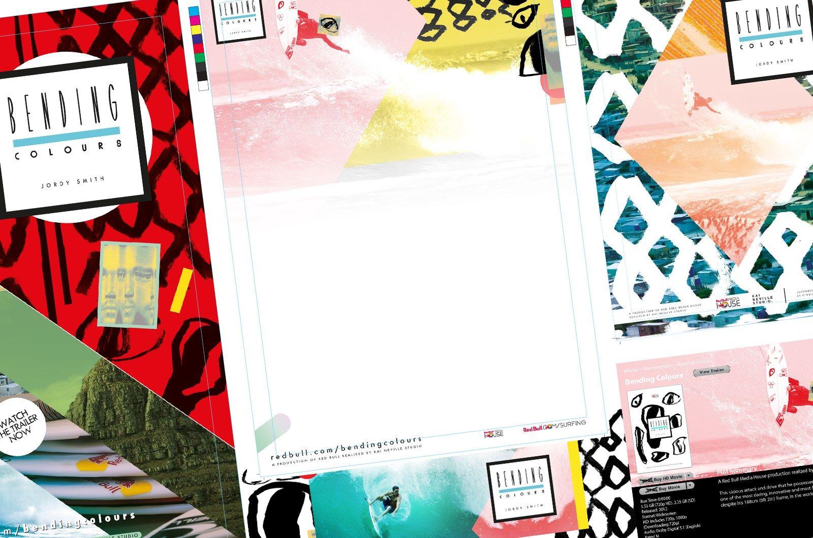 Bending Colours Design & Marketing Material